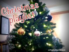 A Christmas music playlist