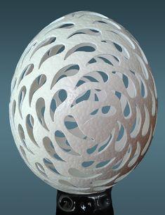 Carved Eggs, Art Carved, Types Of Eggs, Egg Shell Art, 3d Printing Diy, Ukrainian Easter Eggs, Egg Crafts, Faberge Eggs, Egg Art