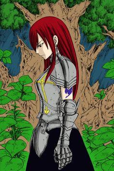 Tags: Anime, Mashima Hiro, FAIRY TAIL, Erza Scarlet, Forest