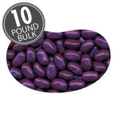 Jelly Belly Jewel Grape Soda Jelly Beans - 10 lb Case