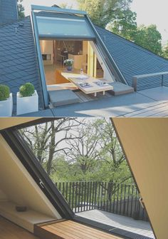 Roof Window, Pergola With Roof, Covered Pergola, My Dream Home, Architecture, Future House, Balcony, Sweet Home, New Homes