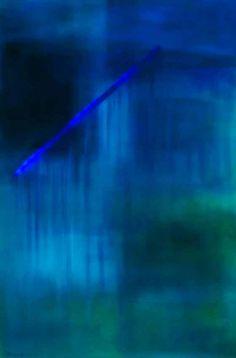 La cascata blu