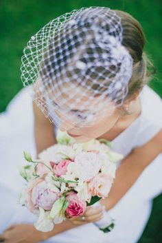 Photo by Marit Karp http://www.maritkarp.com/blog/?p=2101 Veil by Marge Iilane. Bridal bouquet by Masha. Wedding photography. Wedding. Bride. Pastel. Estonia.