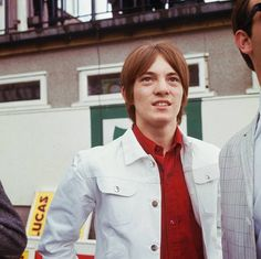 Steve Marriott at a pirate radio station at Brands Hatch in Kent. 1965