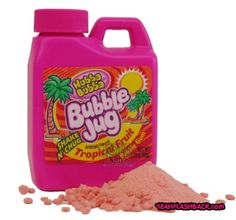 Totally forgot about this gum! I friggen loved this stuff!!! I'd eat the entre thing at one time!!!