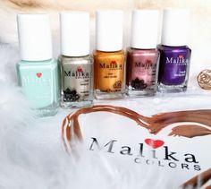 Malika Colors, culori prețioase pentru manichiuri fabuloase Hello beauties, astăzi vă vorbesc din nou despre unghiuțe frumoase și despre o parte din cele mai