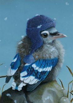 Inkognito 17825 - Ansichtkaart - Der erste schnee