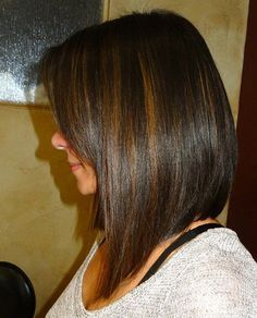 Neat A-line with Highlights