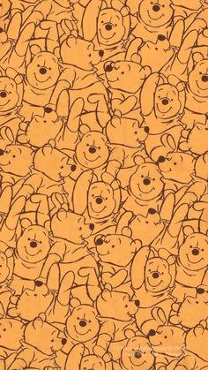 Disney Phone Wallpaper, Cartoon Wallpaper Iphone, Mood Wallpaper, Iphone Wallpaper Tumblr Aesthetic, Iphone Background Wallpaper, Butterfly Wallpaper, Cute Cartoon Wallpapers, Winnie The Pooh Drawing, Cute Winnie The Pooh