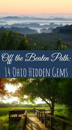 Do you have a favorite off the beaten path spot in Ohio? Here's 14 that hit our radar for Ohio hidden gems!