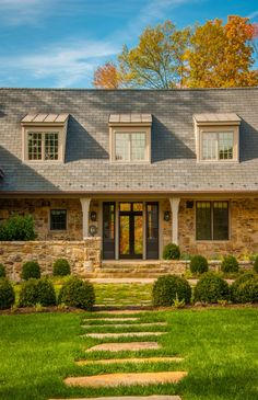 new old house new home construction luxury homes stone house residential architect Alexanria Viriginia Donald Lococo