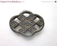SALE Korean Yi Dynasty Well Coin Folk Coin Amulet Talisman Good Fortune by Gementia13Jewels