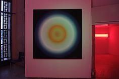 Light Pulse (1968), Peter Sedgley.  ''Dynamo'' au Grand Palais. Vu le 15 juillet…