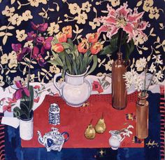 Jennifer Irvine - Still Life with Elephant and Orchid