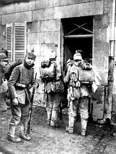 Infantería alemana. Francia, frente occidental