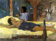 PAUL GAUGUIN  La Naissance du Fils - Te Tamari No Atua, 1896