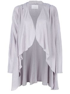 Happy Hooded Wrap In Lilac Grey - Lounge Lover