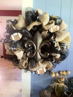 Wreath I made for friend