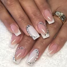 Gelish Nails, You Nailed It, Gorgeous Nails, Nail Tips, Nails Design, Beautiful Hands, Mariana, Summer Time, Edge Nails