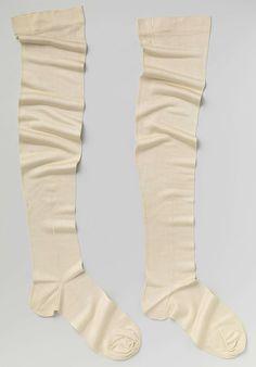 1806-1810, the Netherlands - Silk stockings