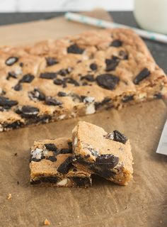 Cookies and Cream Blondies by Tracey's Culinary Adventures, via Flickr