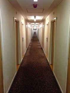 I expected the Royal National Hotel in London to be posh.  I mean, royal is in the name.  The Overlook Hotel from The Shining would have been more appealing.