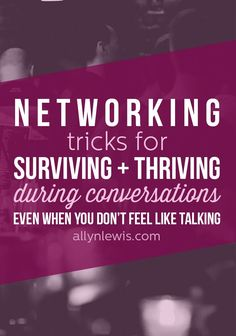 The best kept secrets for making the most out of networking in every situation regardless of if you're an introvert or extrovert.