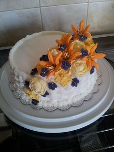Final Cake Wilton Course 2 Wk 4