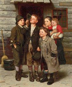 John George Brown (American genre painter, 1831-1913)  The Transit of Venus