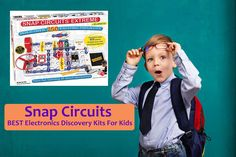 Snap Circuits BEST Electronics Discovery Kits For Kids - http://mom-kid.com/product-review/snap-circuits-lights-best-electronics-discovery-kits-for-kids