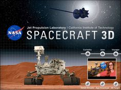 NASA Augmented Reality App - Created on Tactilize Science Experiments Kids, Science Lessons, Science Ideas, Android Apps Best, Free Android, Curiosity Rover, Nasa Missions, Great Apps, Space Travel
