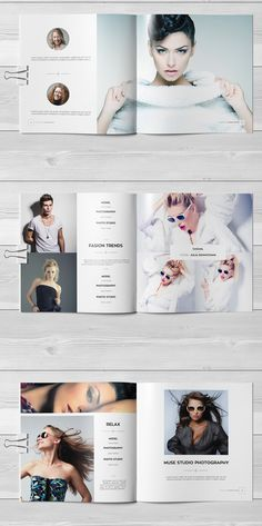 Fashion Square Universal Brochure / Catalog on Behance Catalogue Design Templates, Catalogue Layout, Catalog Design, Lookbook Layout, Lookbook Design, Design Theory, Magazine Layout Design, Publication Design, Fashion Collage