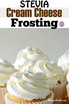 Enjoy this recipe for sugar free cream cheese frosting using Stevia as the sweetener. This is a tasty frosting that easy to make. Stevia Desserts, Stevia Recipes, Diabetic Desserts, Sugar Free Desserts, Sugar Free Recipes, Low Carb Desserts, Diabetic Recipes, Low Carb Recipes, Dessert Recipes