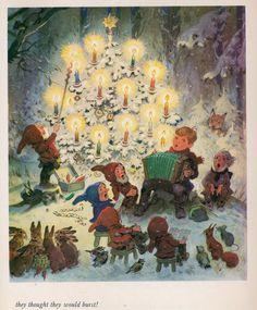 Was f r ein h bscher und aussagekr ftiger kleiner cartoon des bekannten kinderbuch illustratoren - Kleiner baum garten ...
