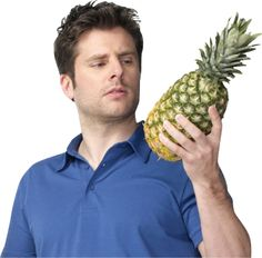"""James Roday, or """"Shawn Spencer"""" on Psych with his pinapple that he always gives as a gift lol Shawn And Gus, Shawn Spencer, Psych Quotes, James Roday, I See Stars, Cute Actors, Music Tv, Dream Guy, Mellow Yellow"""