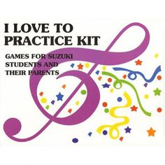 I Love to Practice! Kit for Suzuki Violin Book 1 Music Lessons For Kids, Violin Lessons, Teaching Music, Teaching Orchestra, Learning Piano, Music Education, Learn To Read, Book 1, Furniture