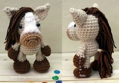 S'mores the little Horse - free crochet pattern