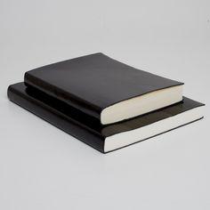 Pinetti Leather Journal (black) : McNally Jackson Store
