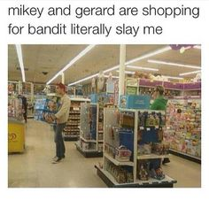gerard way mikey way bandit way Emo Band Memes, Mcr Memes, Emo Bands, Music Bands, Gerard Way, My Chemical Romance, Music Stuff, My Music, Punk Rock