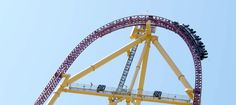 Top Thrill Dragster goes, zero to 120 MPH in less than 4 seconds. Get to Cedar Point and experience the adrenaline rush on this roller coaster today! Fastest Roller Coaster, Best Amusement Parks, Sandusky Ohio, Cedar Point, Roller Coasters, Ohio Usa, Vacation Spots, Racing, The Incredibles