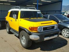 Salvage Toyota Fj Cruiser Suvs for Sale And Auction   JTEBU11F170026876