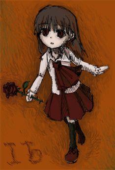"""""""この絵はすごく、イヴらしく描けたなぁ、と思います。"""" - kouri"""