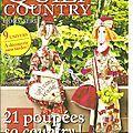 * B * Magazine Quilt Country : hors Série n°17 : 21 poupées
