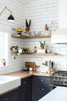 116 Best kitchen open shelving images in 2019   Kitchen ...