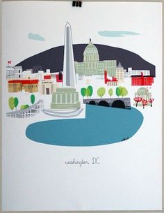 Washington, DC print