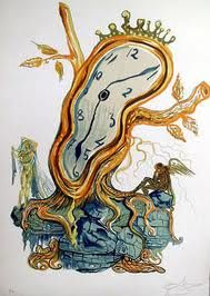 Stillness of Time/Salvador Dali