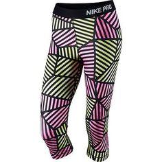 check out 0ccea f968f Nike Pro Core Web Fade Women s Compression Capri Tights 799096 Was Small
