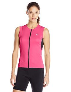 Pearl Izumi Ride Womens Select Sleeveless Form Fit Jersey Screaming Pink  Small   To view further for this item 13f7c44d0