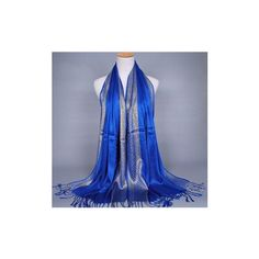 Shade Pohemina Scarf Stole Shawl Wrap Soft Cotton Scarves ($7.53) ❤ liked on Polyvore featuring accessories, scarves, royal blue, summer shawl, cotton shawl, summer scarves, royal blue shawl and wrap shawl
