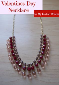 Valentines Day Necklace | My Girlish Whims